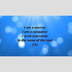 Marvia Providence  I Am A Warrior (lyrics) Youtube
