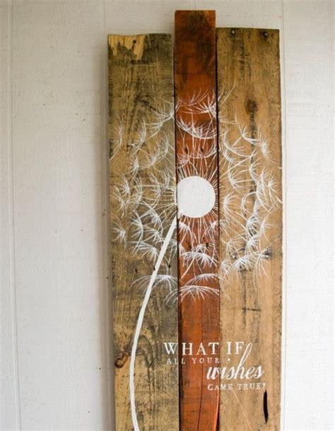 Wanddeko Aus Holz by Moderne Wanddeko Aus Holz Im Rustikalen Stil
