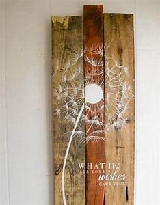 Moderne Wanddeko Aus Holz : moderne wanddeko aus holz im rustikalen stil ~ Bigdaddyawards.com Haus und Dekorationen