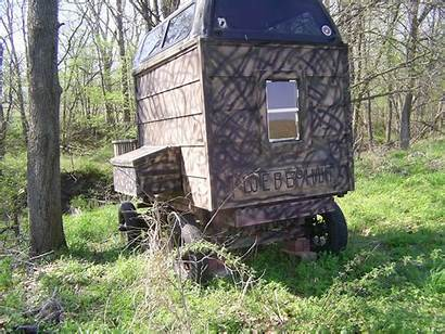 Deer Blinds Wagon Camo Blind Stand Gravity