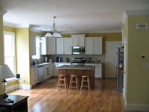 Open living room kitchen paint colors living room for Interior design for living room with open kitchen