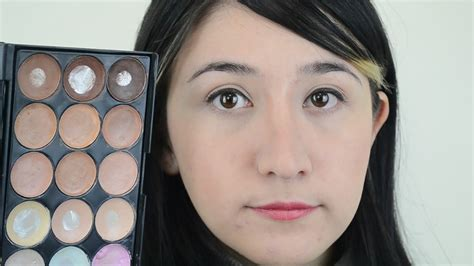 ways    nose  thinner  makeup wikihow