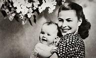 Ingrid Bergman and daughter Pia Lindström