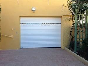 porte de garage enroulable portes de garage sma martigues With porte de garage enroulable avec portes de services pvc