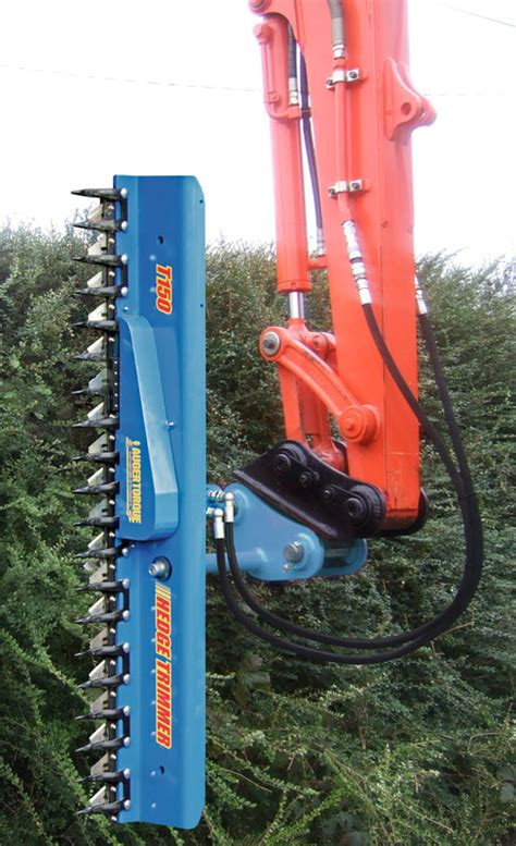 hedge cutters excavator attachments  hedge trimming digbits quality wear parts