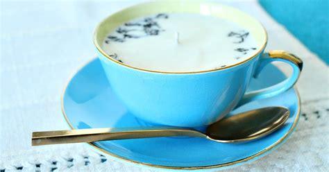 diy earl grey tea soy candle cute gift  tea lovers
