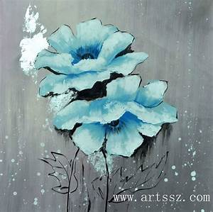 A beautiful flower that i want to attempt to paint for Affiche chambre bébé avec earl grey fleurs bleues