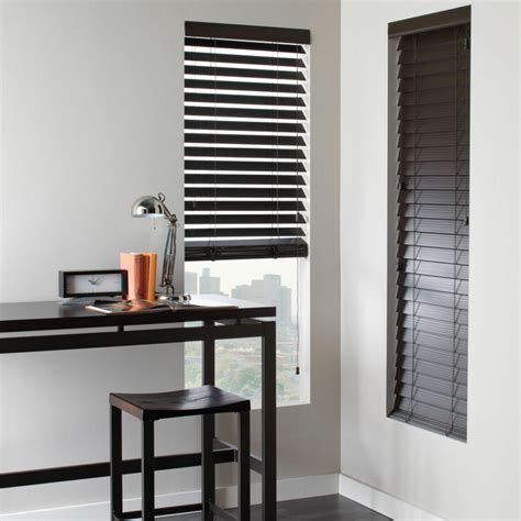 Faux Window Blinds by Shutter Look Faux Wood Blinds 4 Colors Free Shipping Ebay