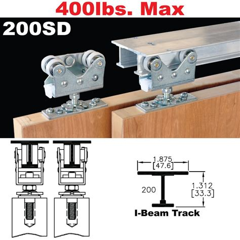 bypass door hardware johnson hardware 200sd sliding bypass door hardware