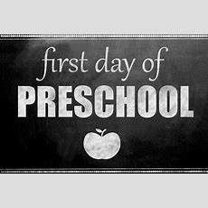 First Day Of School Printable Signs  Girl Inspired