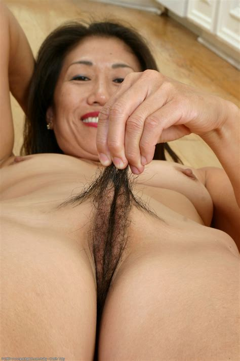 2 In Gallery In The Kitchen Hairy Asian Mature Milf