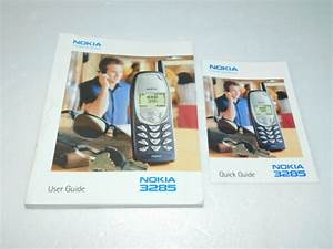 Nokia 3285 User  U0026 Quick Guide Owners Manual 2001