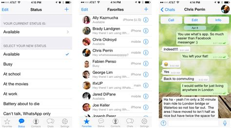 chat on iphone best messaging apps for iphone hangouts line whatsapp