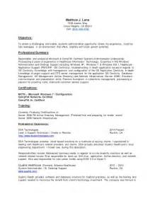 Where To Write Certifications In A Resume by Certifications Resume Mfawriting608 Web Fc2