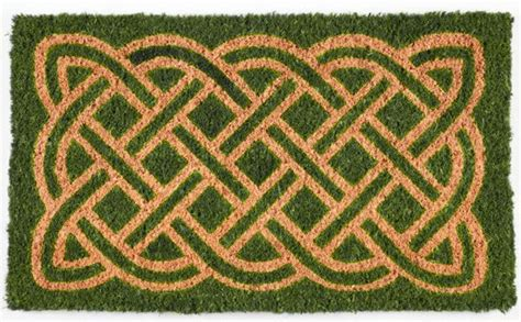 door mats celtic knot doormat 18 quot x 30 quot coir door