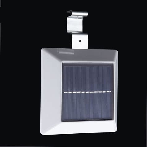 4 led solar powered outdoor light l with pir motion