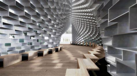 virtual reality preview of big s serpentine gallery pavilion