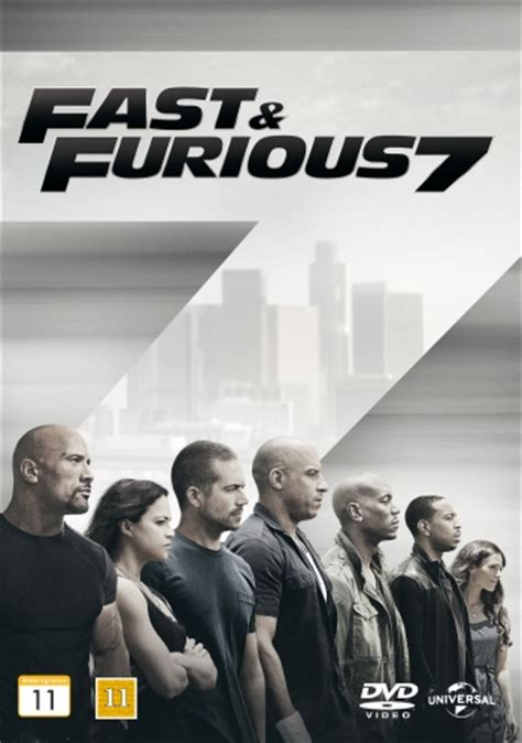 Fast & Furious 7  Dvd Discshopse