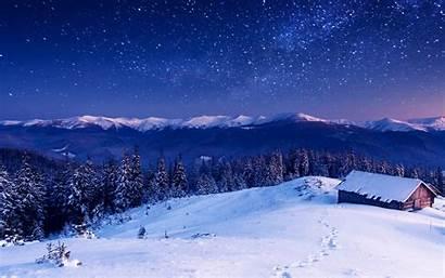 Winter Landscape Nature Desktop Computer Snow Mountain