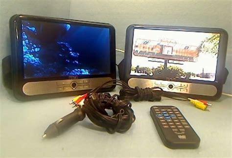 rca   dual screen portable dvd player drc specs