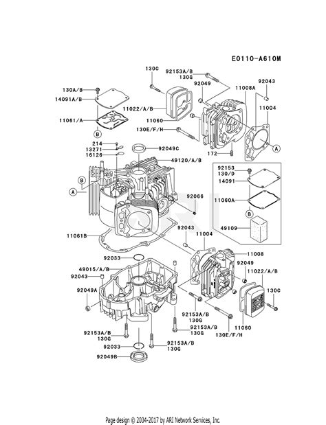 4 Engine Diagram by Kawasaki Fh721v Fs01 4 Stroke Engine Fh721v Parts Diagram