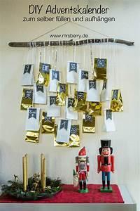 Adventskalender Für Freundin Basteln : diy adventskalender zum aufh ngen ~ Watch28wear.com Haus und Dekorationen