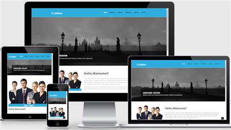 Ladder Bootstrap Template Multipurpose