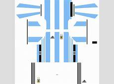 Dream League Soccer Argentina Kits and Logos 2018, 2019