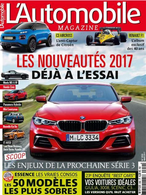 l automobile magazine sondage meilleures voitures 2017 les 11 gagnantes l automobile magazine