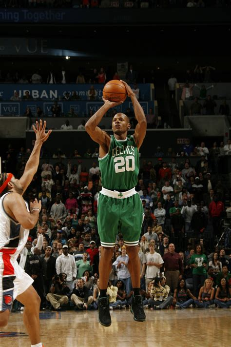 celebrity ray allen basketball player