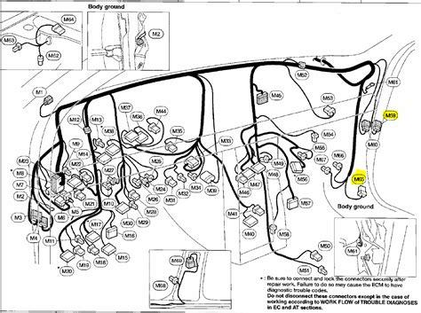98 nissan frontier trailer wiring diagram
