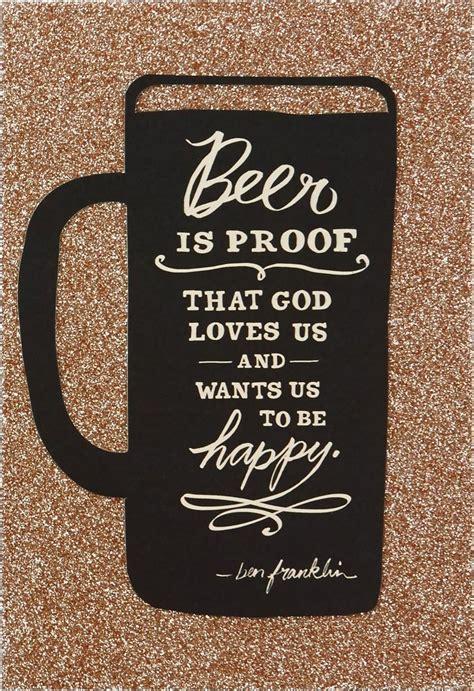 beer   happy birthday card greeting cards hallmark