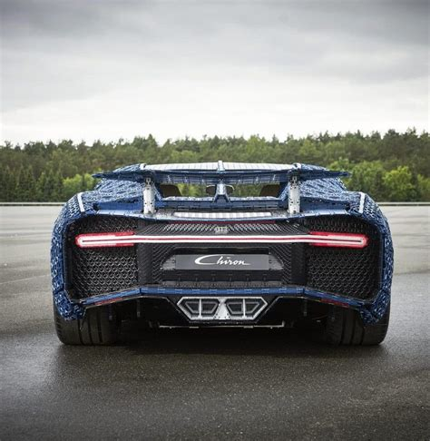 Bugatti claims that the chiron makes the dash from zero to 60 mph in a mere 2.3 seconds, and it has a top speed of 261 mph. Bugatti Chiron Made Of LEGOs | Men's Gear