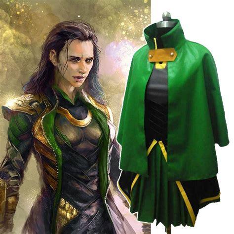 Halloween Costumes For Adult Women Loki Marvel The