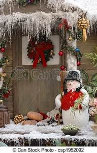 Stock of Christmas decoration Front door christmas