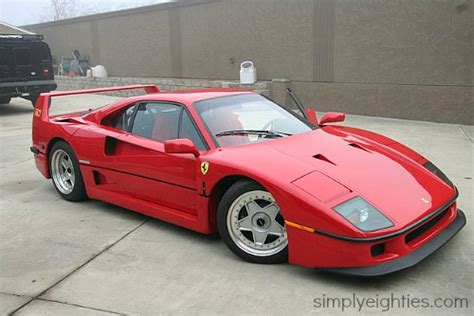 Highly 80's influenced track with synths that take you back in time. Ferrari f40 - Photos and Videos of Best Cars Ever - simplyeighties.com