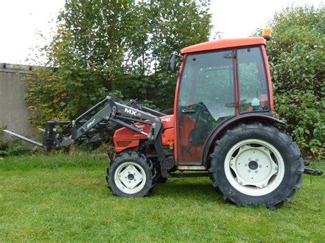 Goldoni Allrad Traktor Aster 45 Mit Frontlader Und Fkh