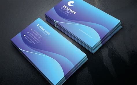michal johns business card vol corporate identity