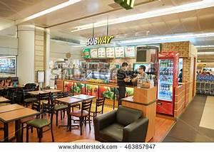 SINGAPORE CIRCA NOVEMBER 2015 Subway Singapore Stock Photo ...