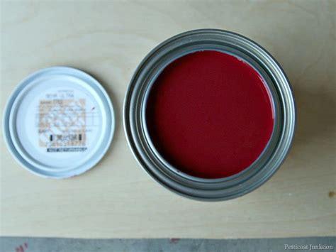 Junktion Red Custom Paint Color Formula