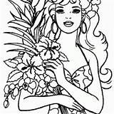 Luau Coloring Pages Printable Birthdayprintable sketch template