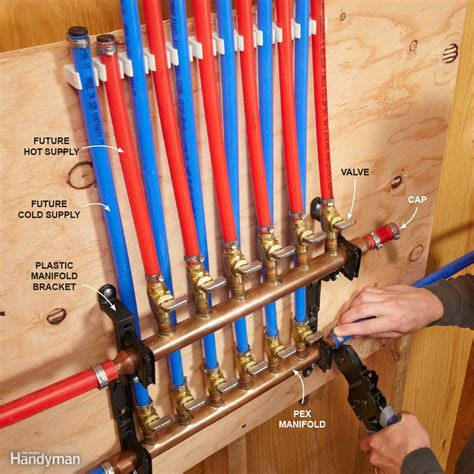 how to install pex pipe under sink pex supply pipe everything you need to know the family