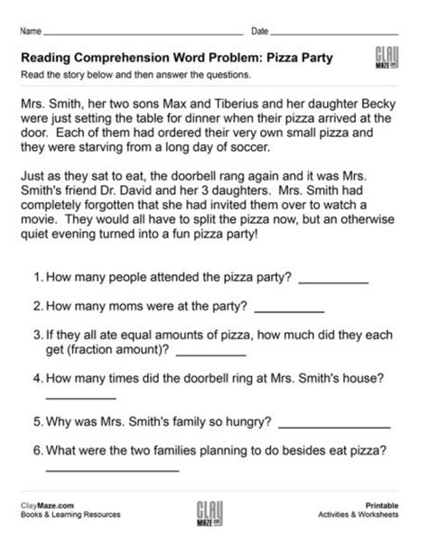 Fourth Grade  Free Children's Worksheets & Educational Books