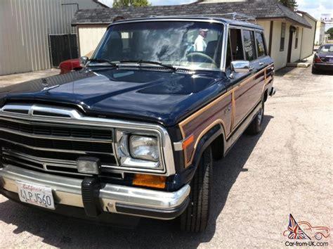 car storage kitchener 1987 jeep grand wagoneer ca car now in mw storage 1987