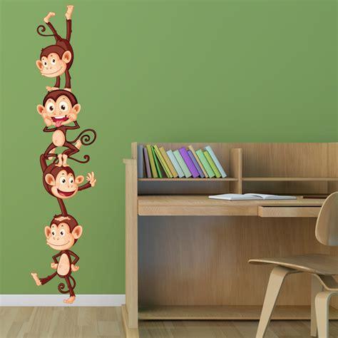 Wandtattoo Kinderzimmer Affen by Wandtattoos Folies Wandsticker Affen