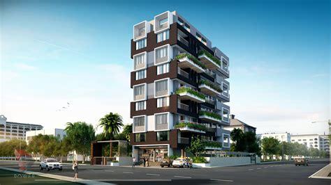 Apartment Elevation Designing