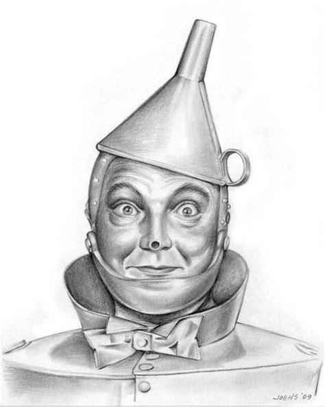 Jack Haley as the Tin Man in the Wizard of Oz by Greg Joens on ARTwanted in 2019 | Wizard of oz
