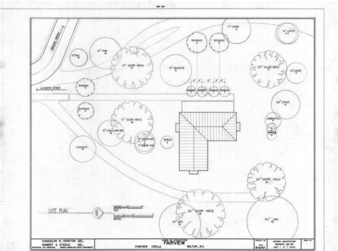 house site plan site plan asa thomas house milton north carolina asa thomas house milton n c