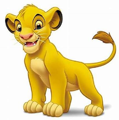 Simba Lion King Disney Characters Clipart Leones
