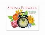spring forward clip art | daylight savings time spring ...